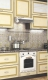 Кухня Платинум Ваниль супермат патина золото