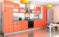 Кухня Гламур Оранж