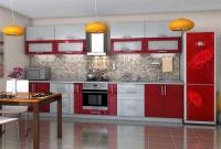 Кухня Гламур Бордо